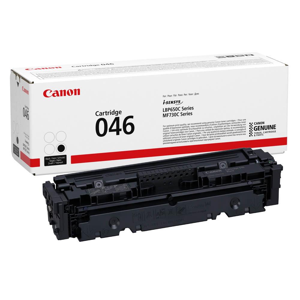 Картридж CANON 046 BK Black для i-SENSYS LBP654Cx/653Cdw/MF732Cdw ...