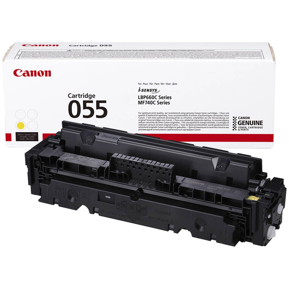 Картридж Canon Cartridge 055 Yellow желтый, № 055