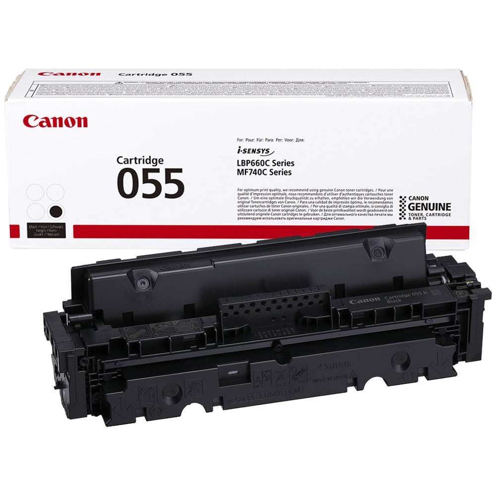 Картридж Canon Cartridge 055 Black черный, № 055