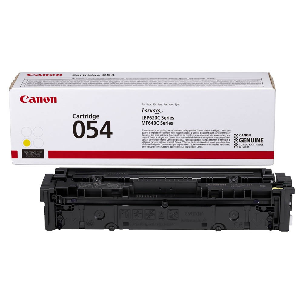 Картридж Canon Cartridge 054 Yellow желтый, № 054