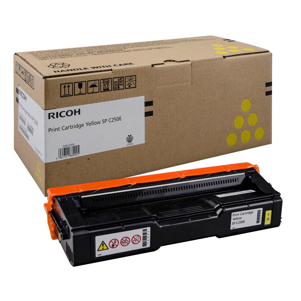 Картридж Ricoh M C250 Yellow жёлтый