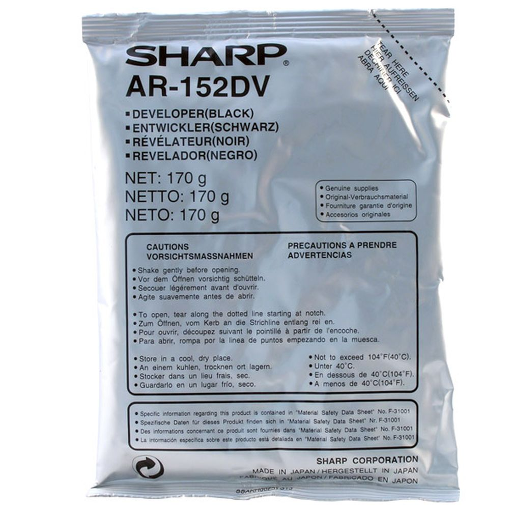 Девелопер Sharp AR-152DV
