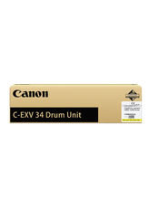Фотобарабан Canon C-EXV 34 Yellow Drum желтый