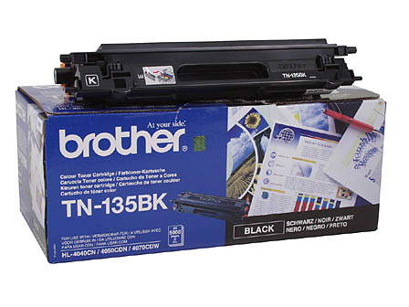 Картридж Brother TN-135Bk черный