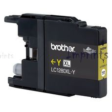 Картридж Brother LC1280XL-Y желтый XL оригинальный